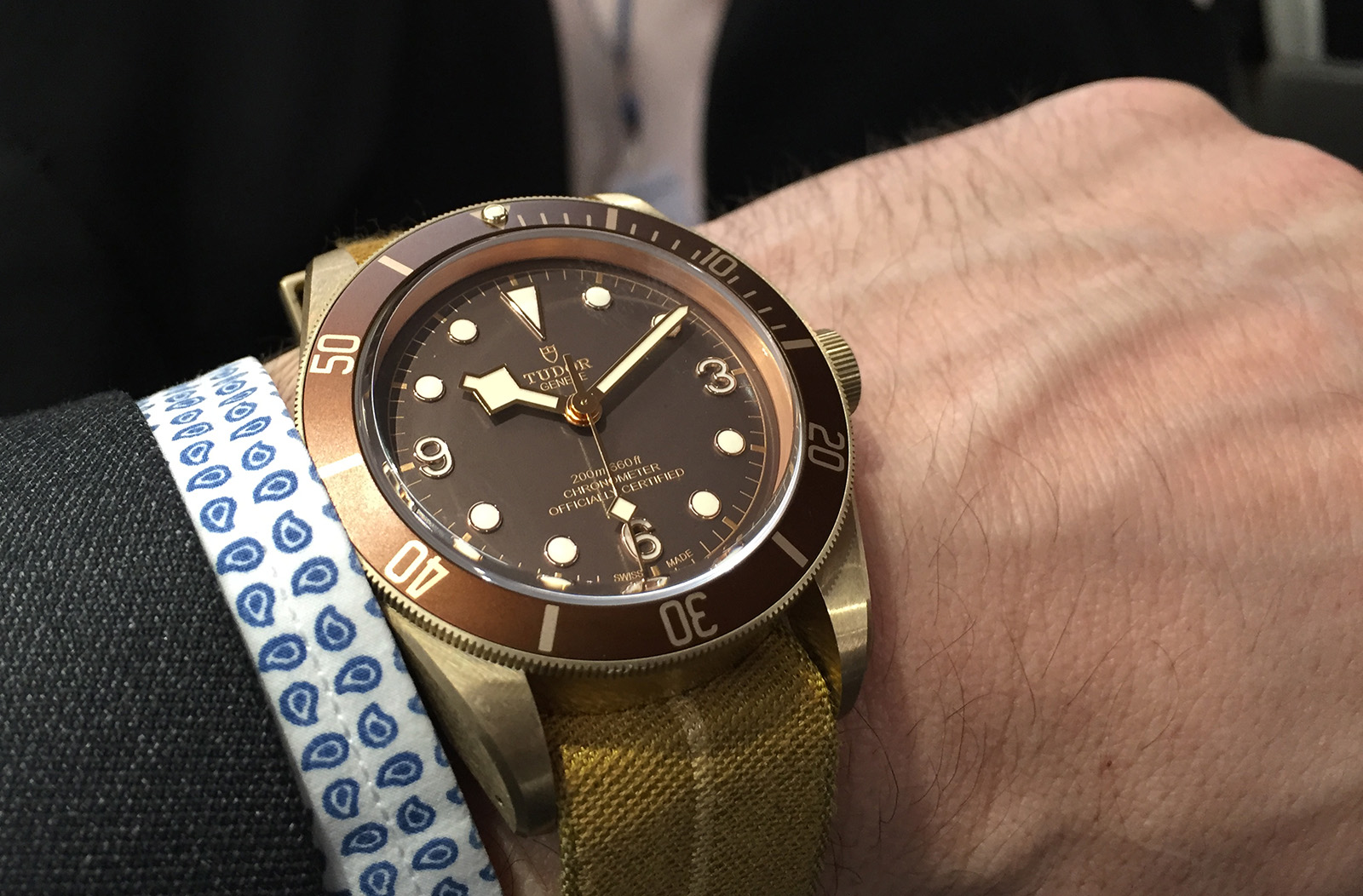 Tudor Black Bay Bronze 2