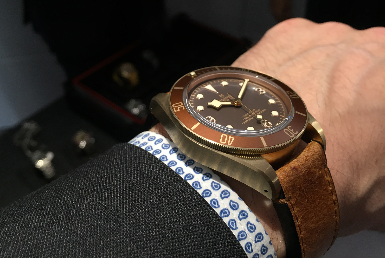 Tudor Black Bay Bronze 5