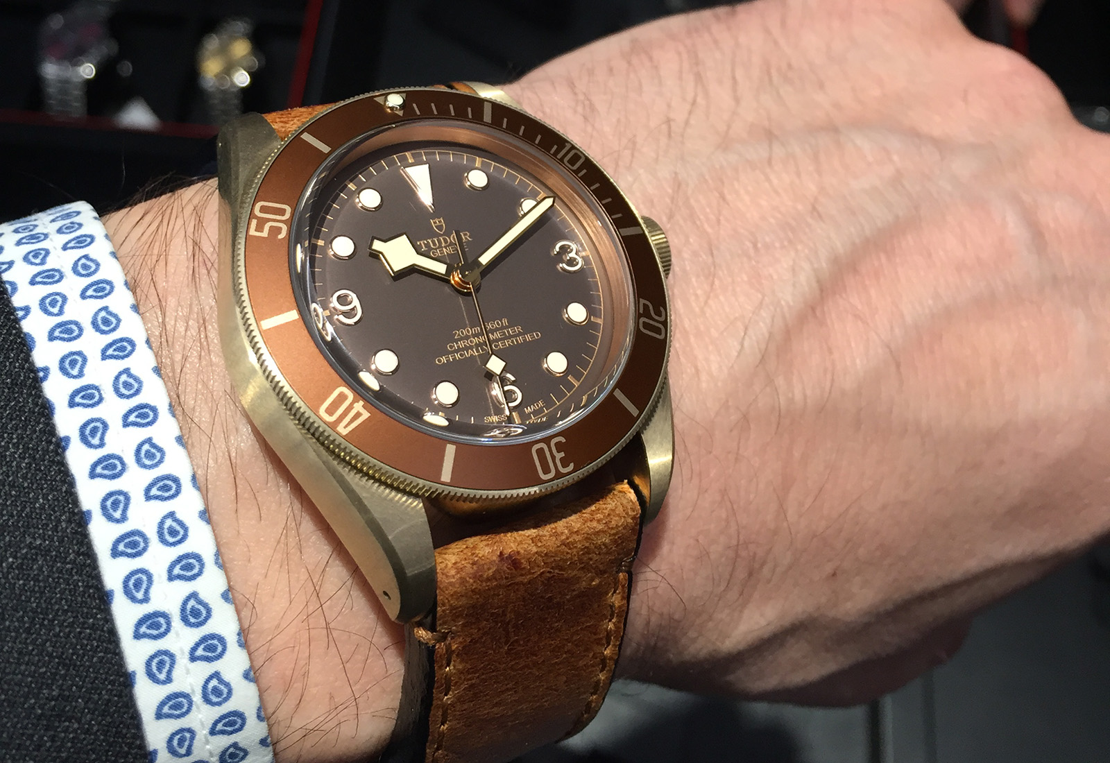 Tudor Black Bay Bronze 6