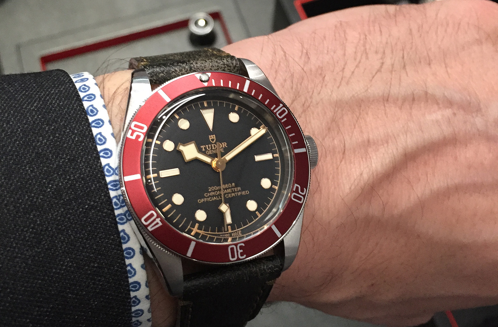 Tudor Black Bay Red