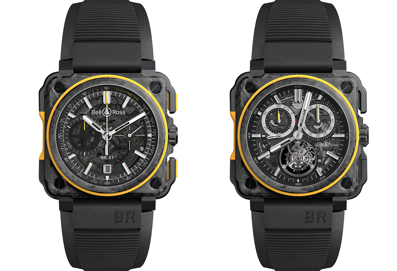 Bell & Ross BR-X1-RS16 correa caucho