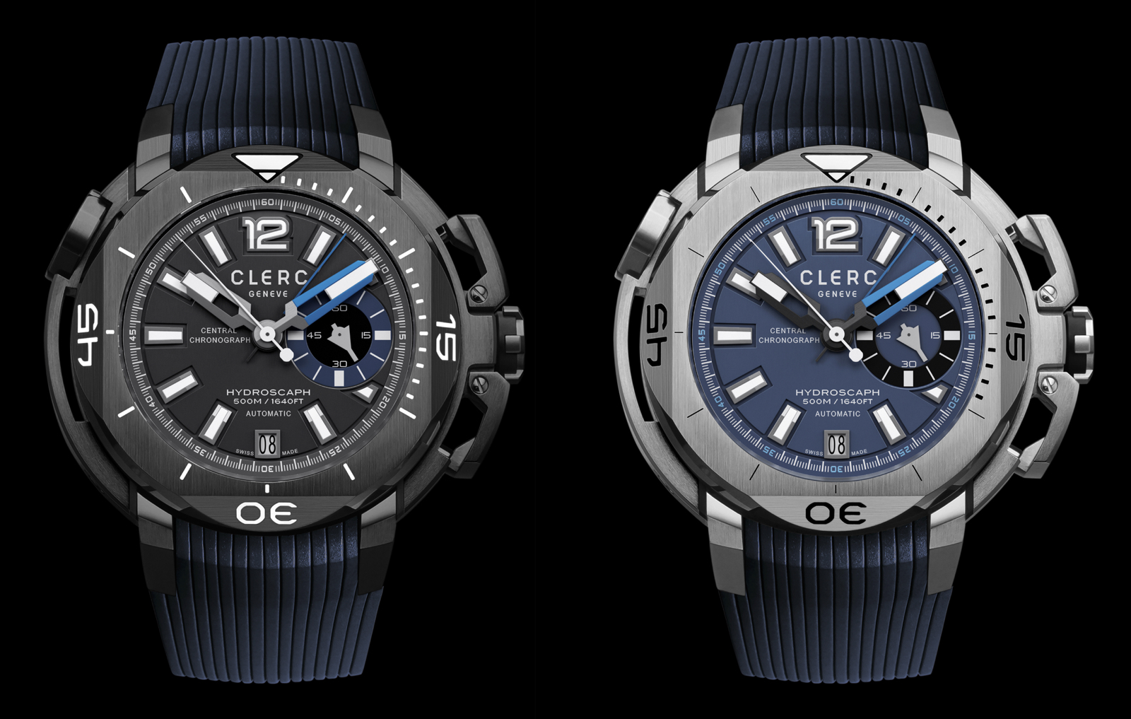 Clerc Hydroscaph Central Chronograph Small Second