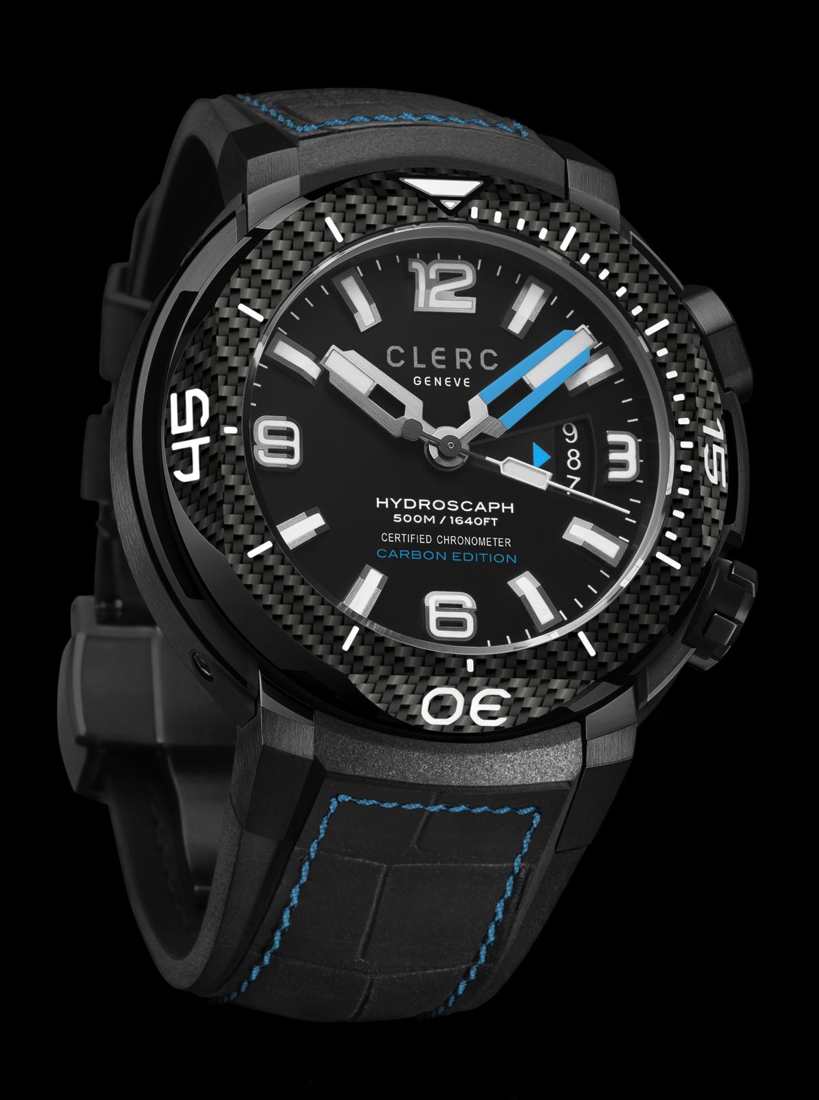 Clerc Hydroscaph H1 Chronometer Carbon Edition