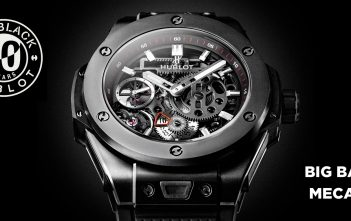 Hublot en Baselworld 2016 - Big Bang MECA-10 All Black - cover