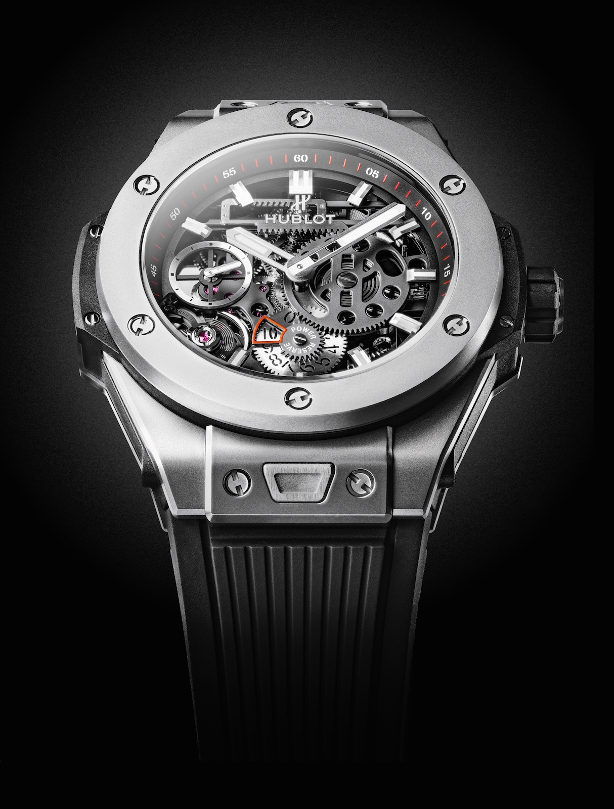 Hublot en Baselworld 2016 - Big Bang MECA-10 Titanium