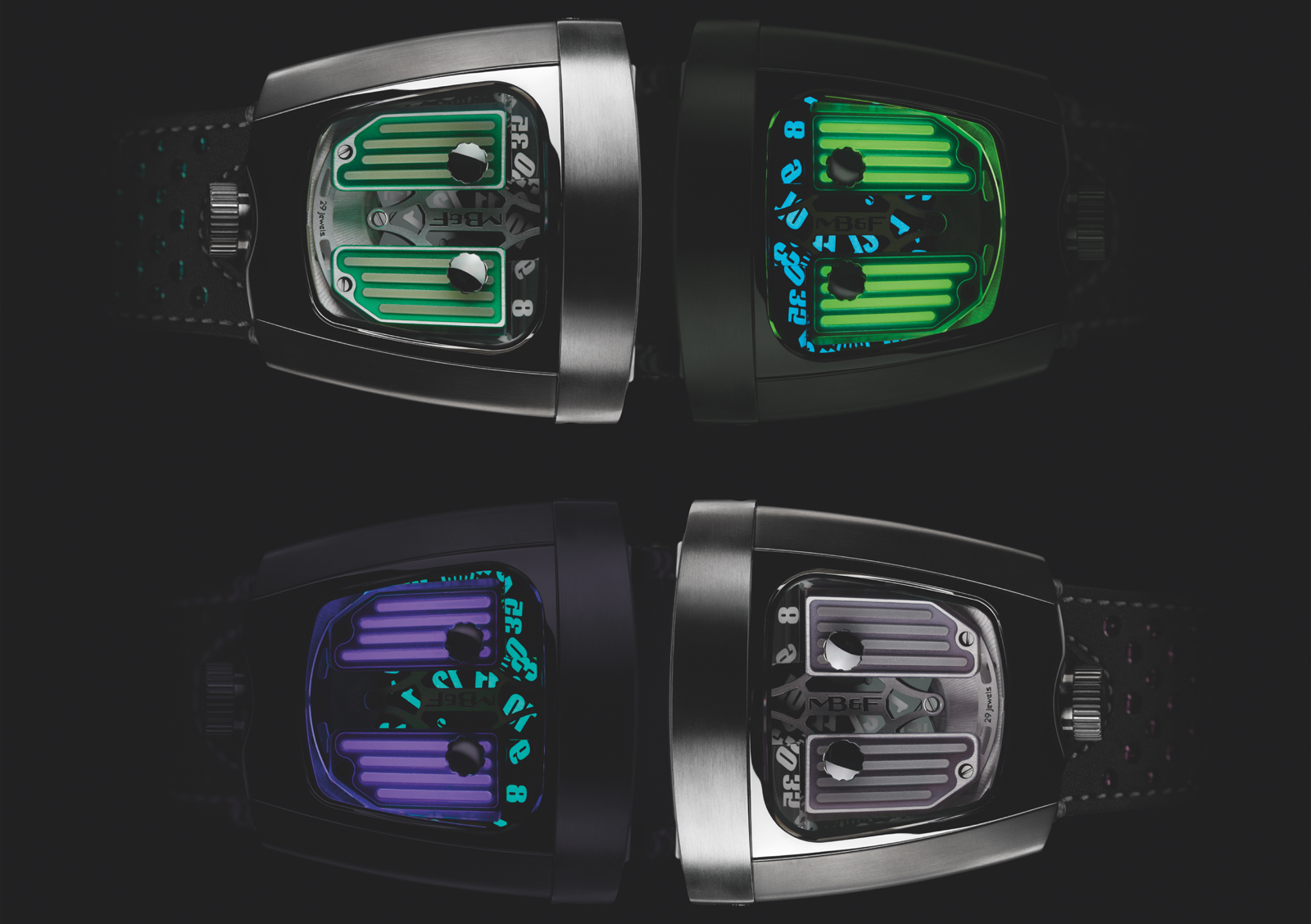 MB&F HMX Black Badger Top 1