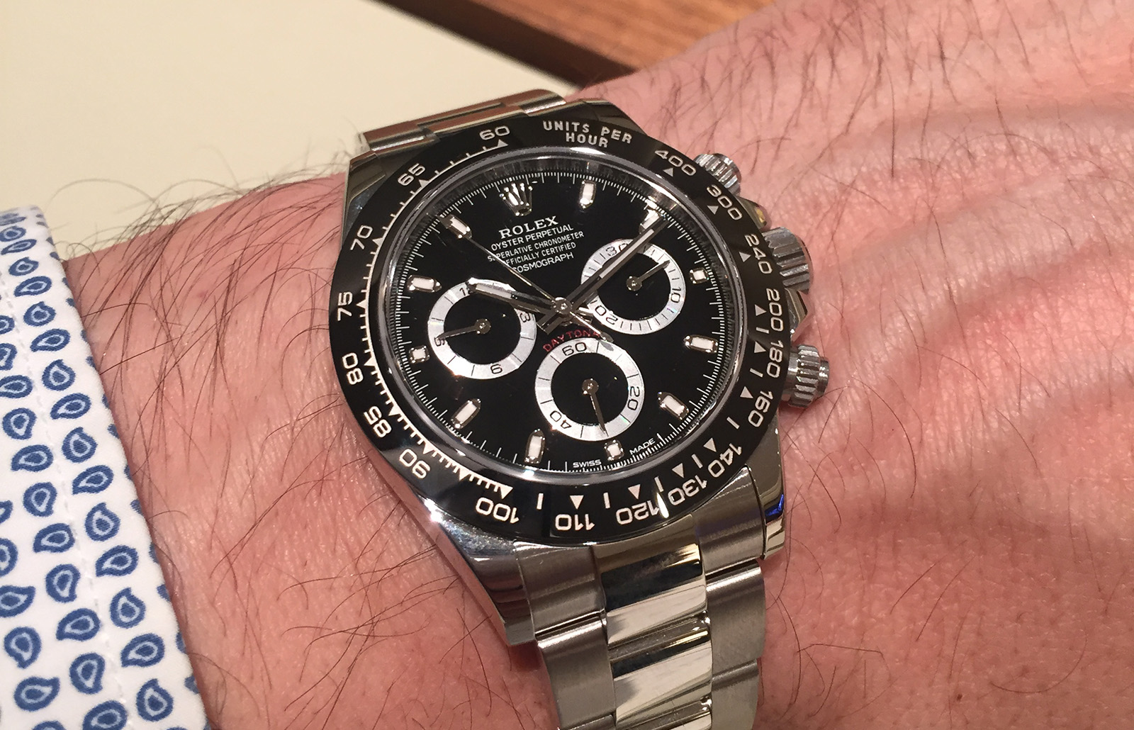 Rolex Daytona Cerachrome black 1