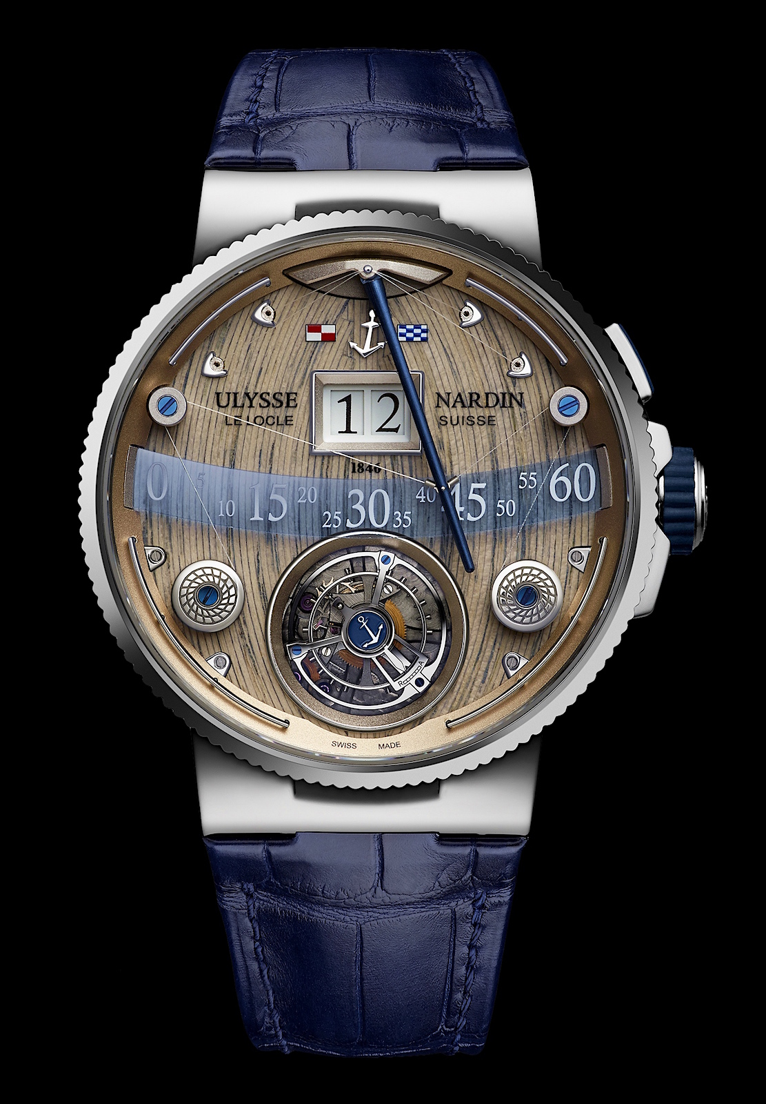 Ulysse Nardin en Baselworld 2016 - Grand Deck Marine Tourbillon