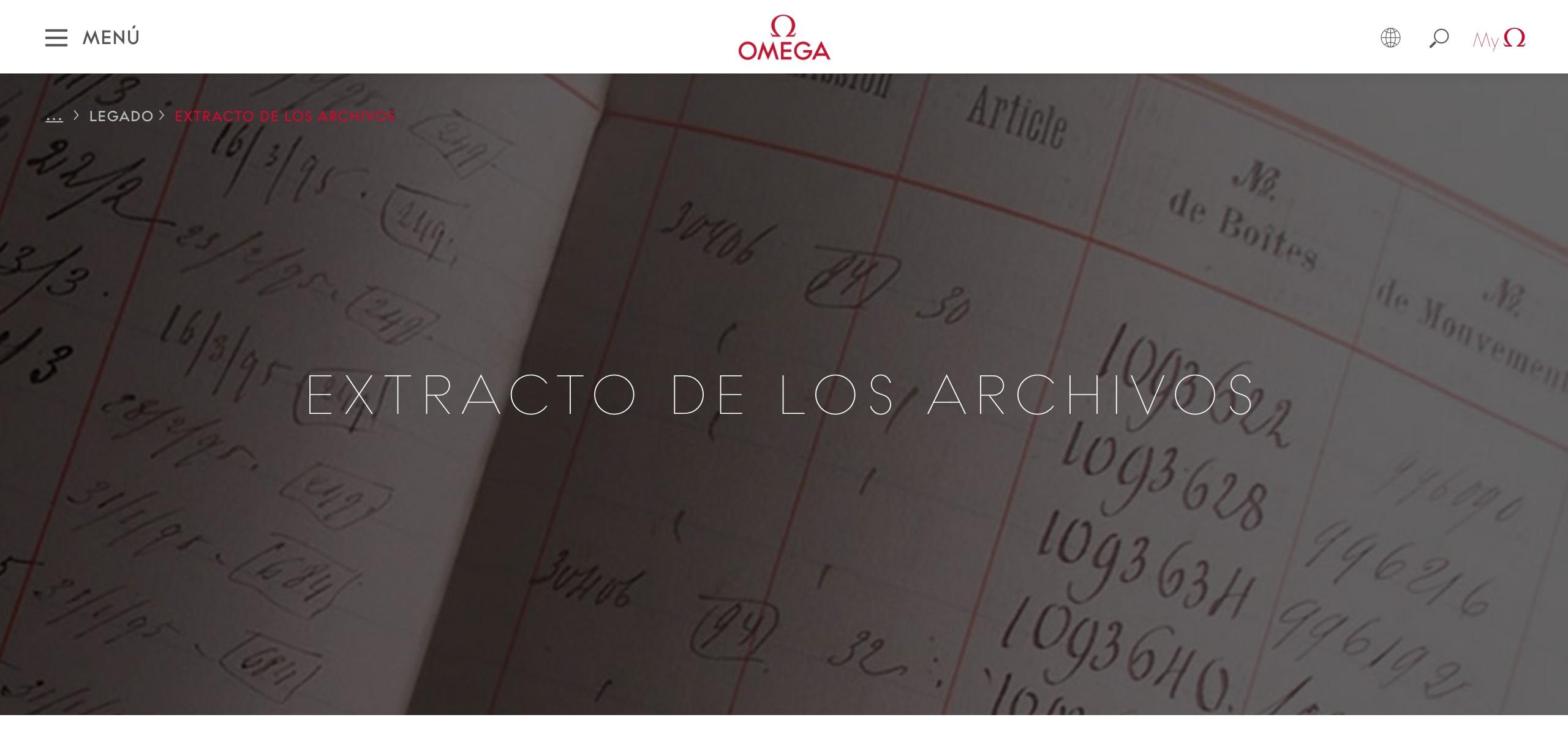 Omega Extracto Archivos Header