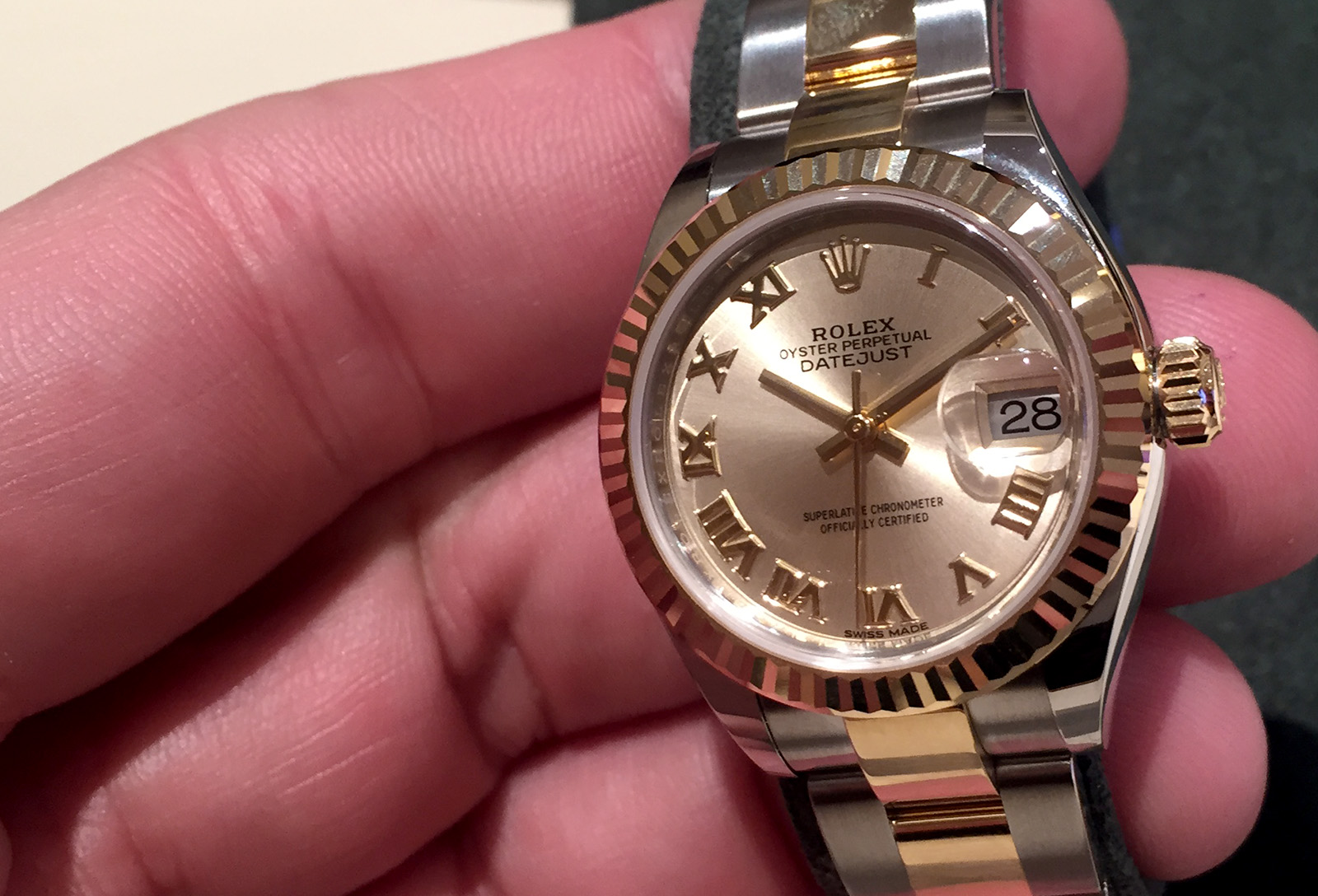 Rolex Oyster Perpetual Lady-Datejust 28 Everose 01