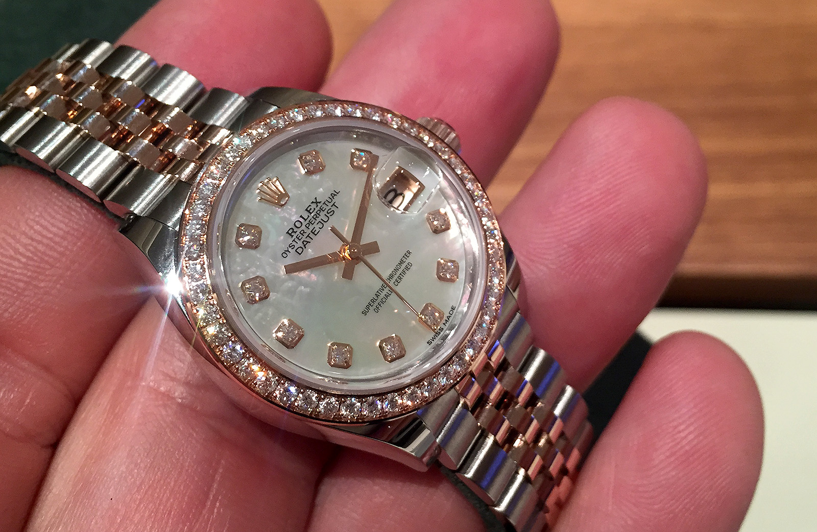 Rolex Oyster Perpetual Lady-Datejust 28 oro amarillo 01
