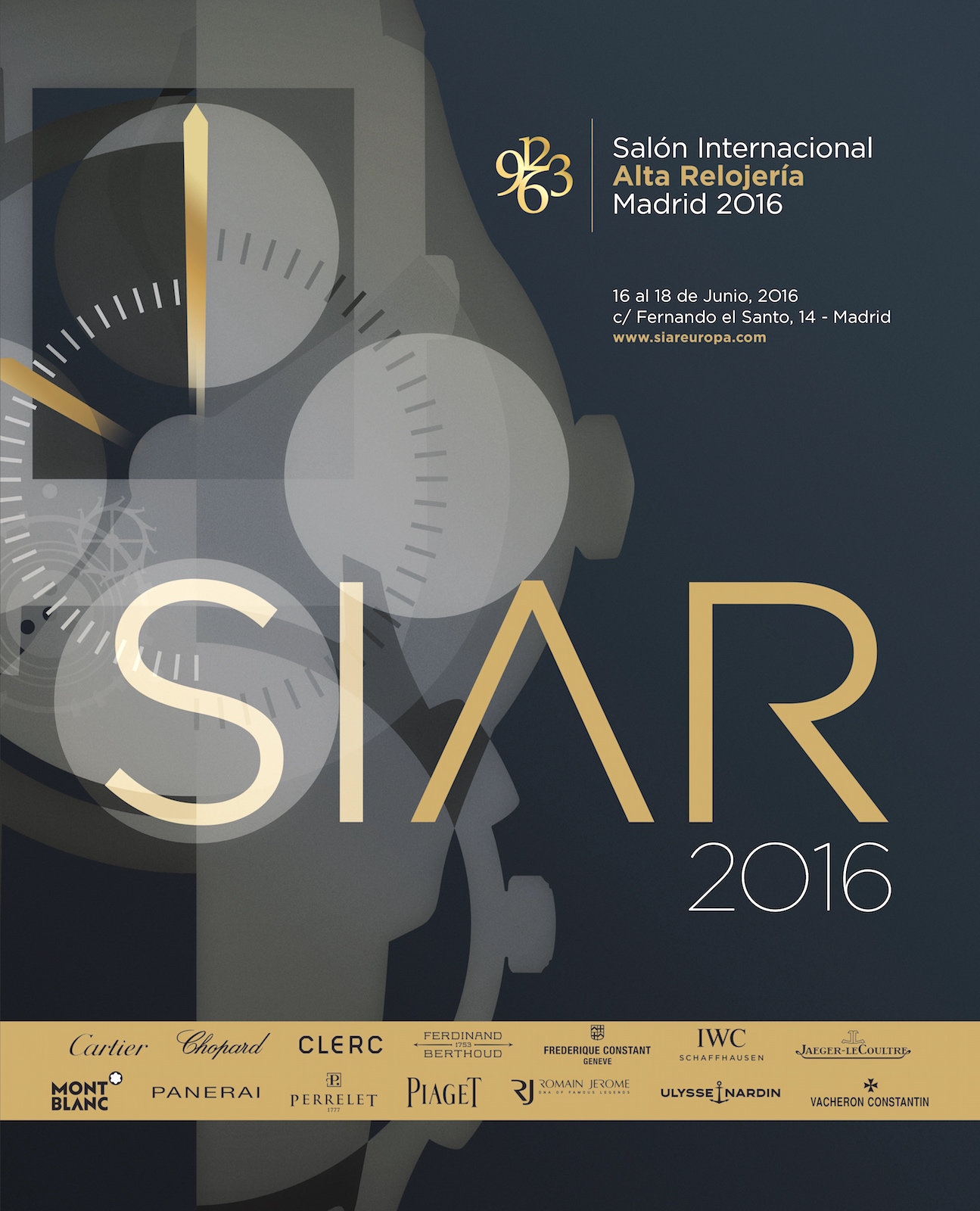 SIAR Madrid 2016 - cartel