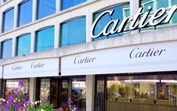Boutique Cartier de Ginebra