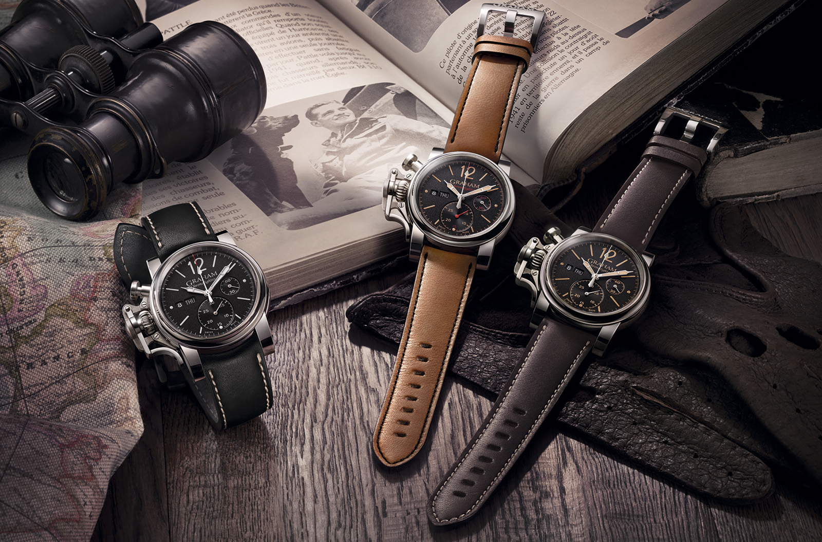 Graham Chronofighter Vintage - 3