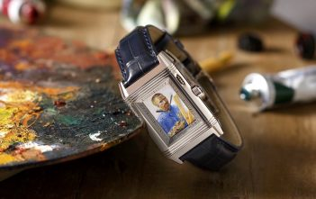 JLC Reverso Van Gogh self portrait - cover