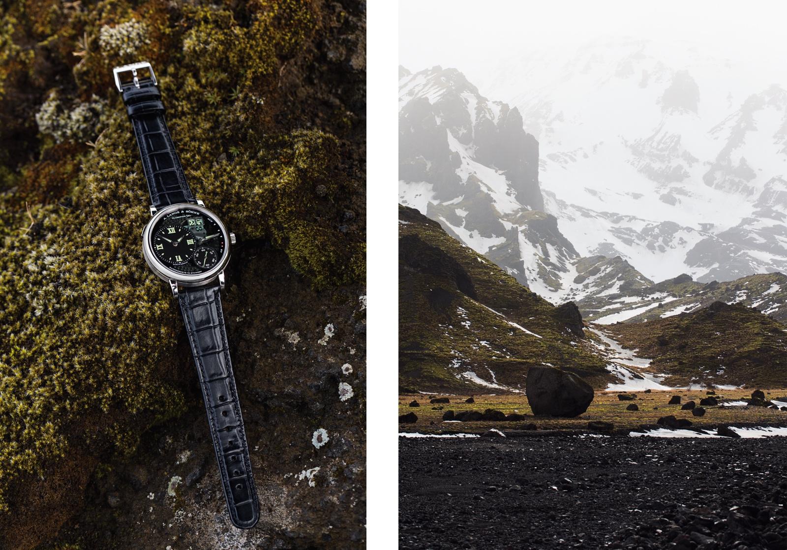 Lange Sohne Montañas Glaciares