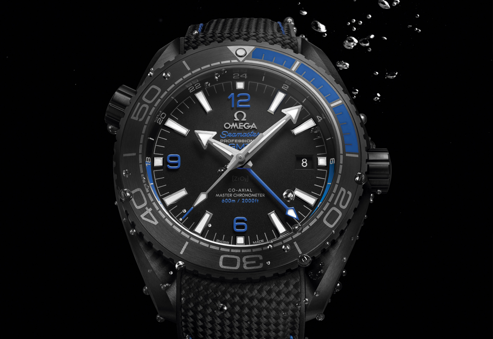 Omega Planet Ocean Deep Black Blue