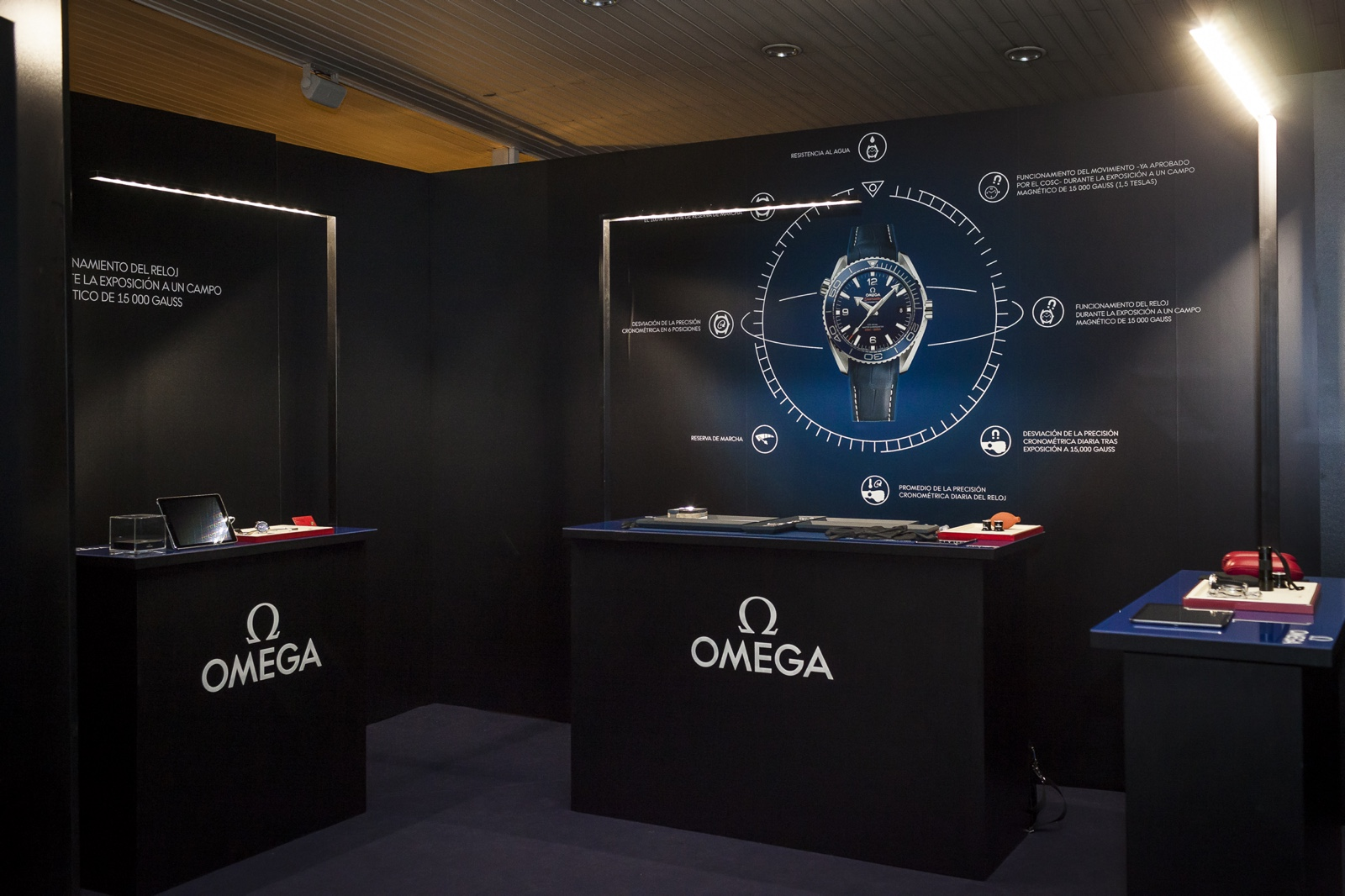 Omega Planet Ocean Deep Black Evento 2