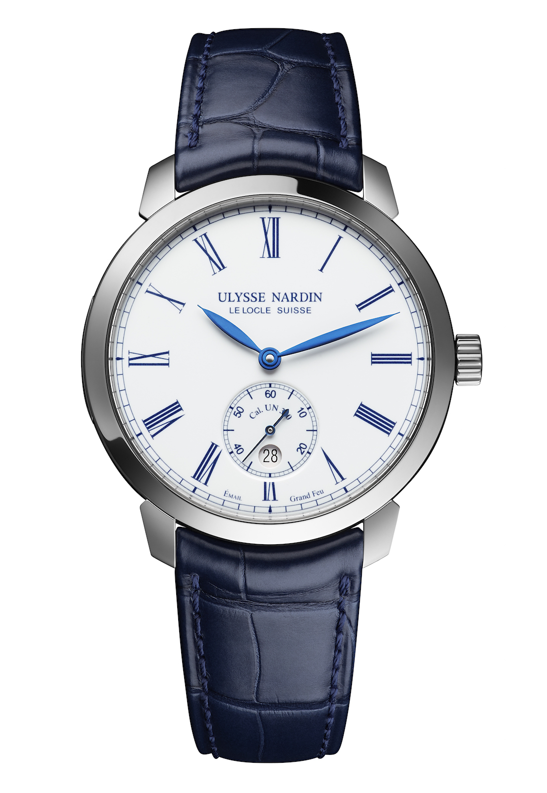 Ulysse Nardin Classico Manufacture LE steel - front