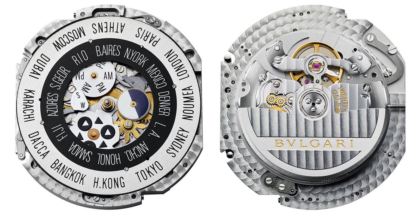 Bulgari Hora Domus Dual Timezone - calibre