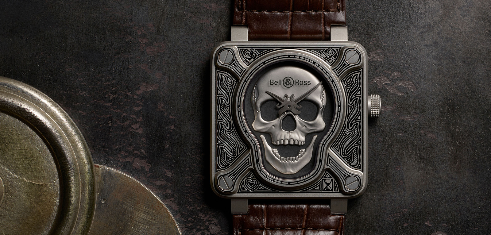 Bell & Ross BR01 Burning Skull - portada