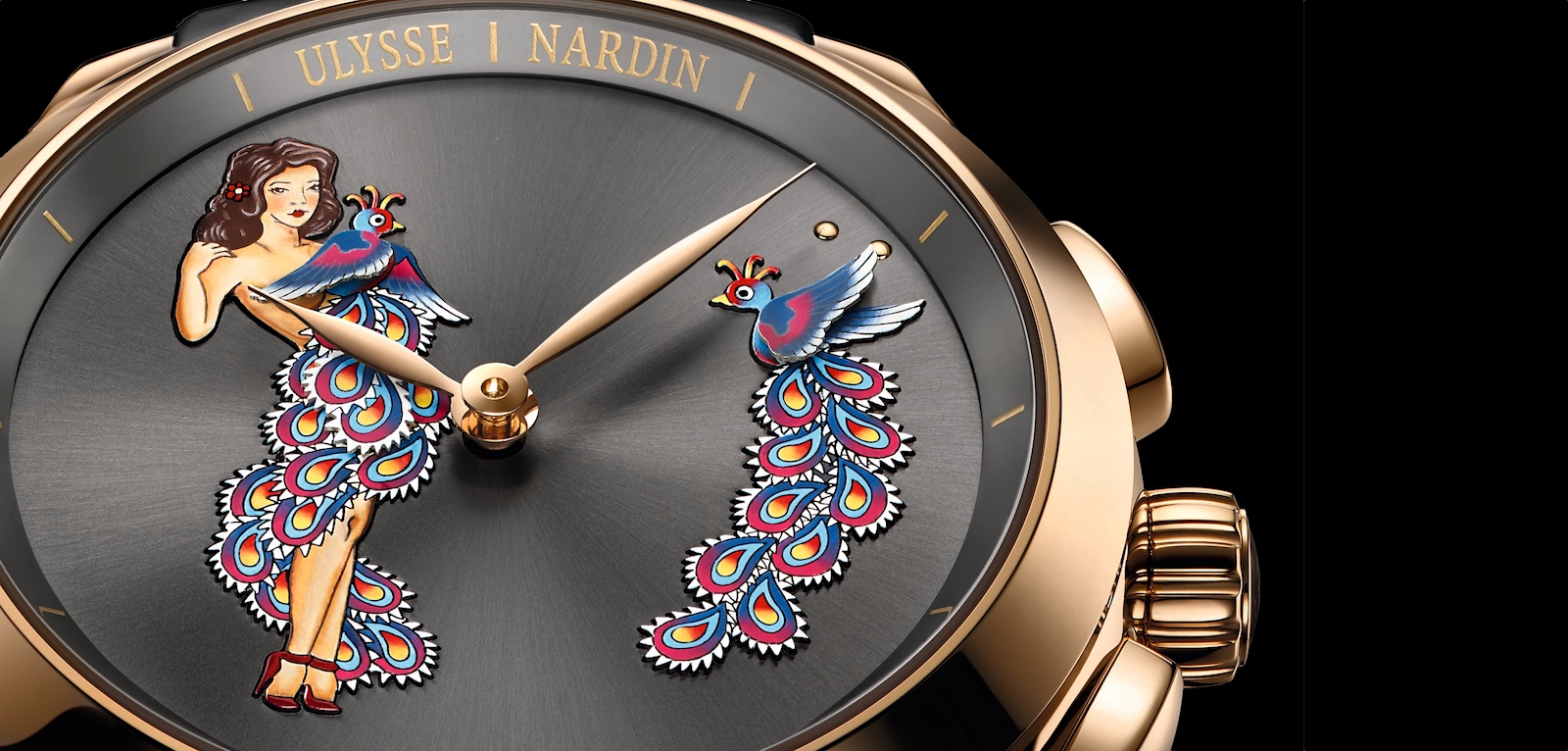 pre-SIHH 2017 de Ulysse Nardin Hourstriker Pin-up cover