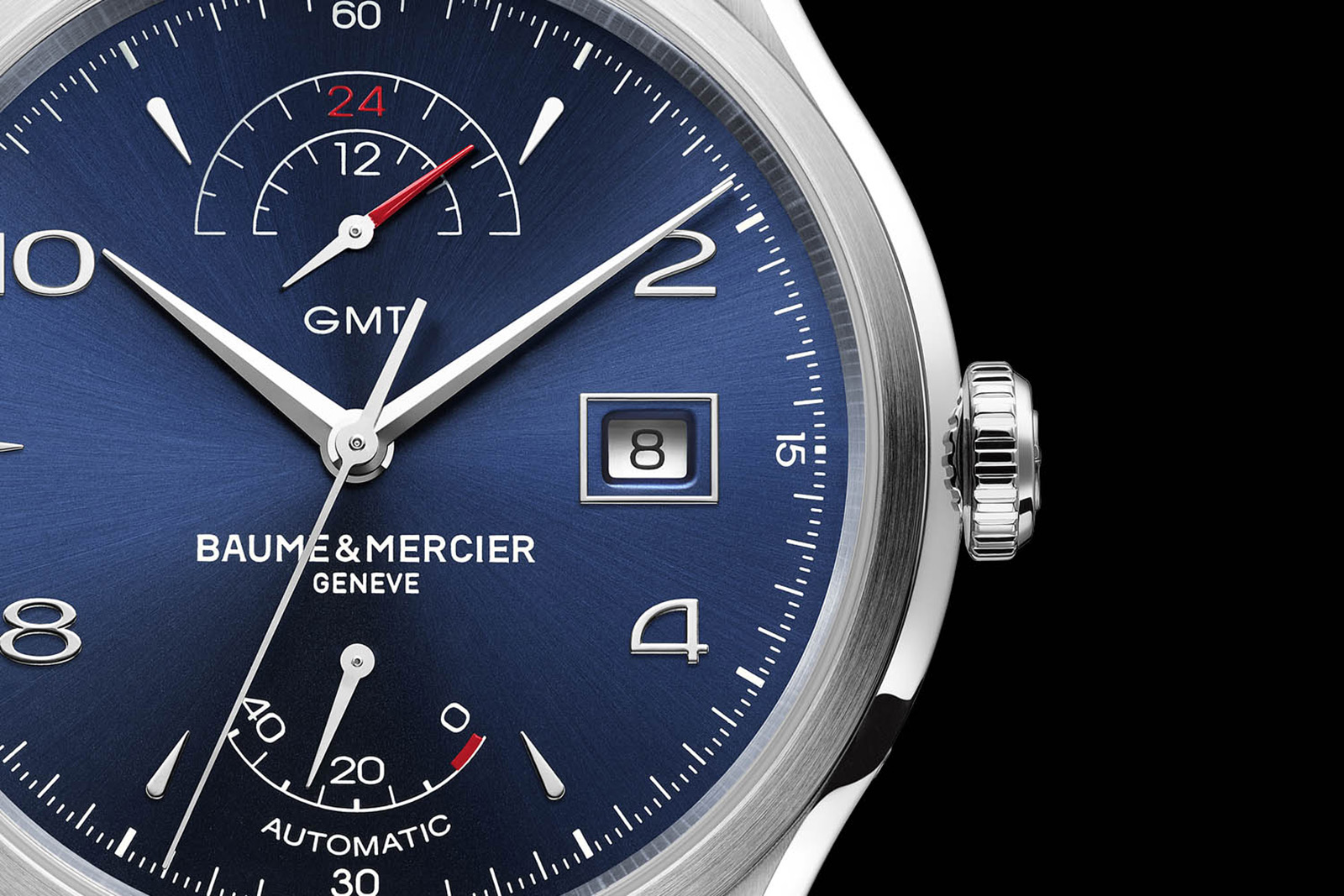 Baume & Mercier Clifton GMT Power Reserve - 01