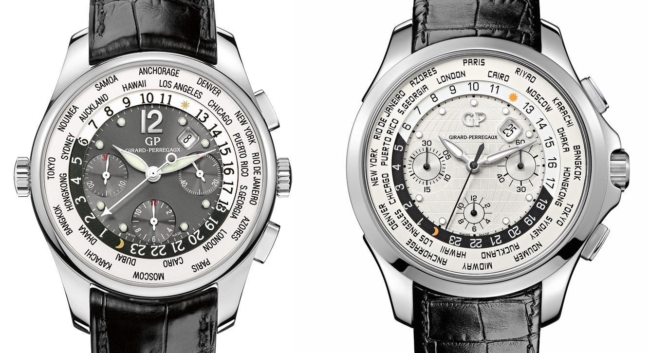 Girard-Perregaux ww.tc vs Traveller