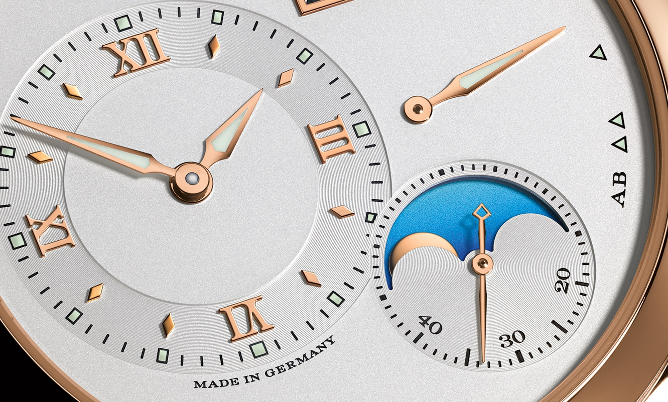 Lange 1 Moon Phase 2016 Detail