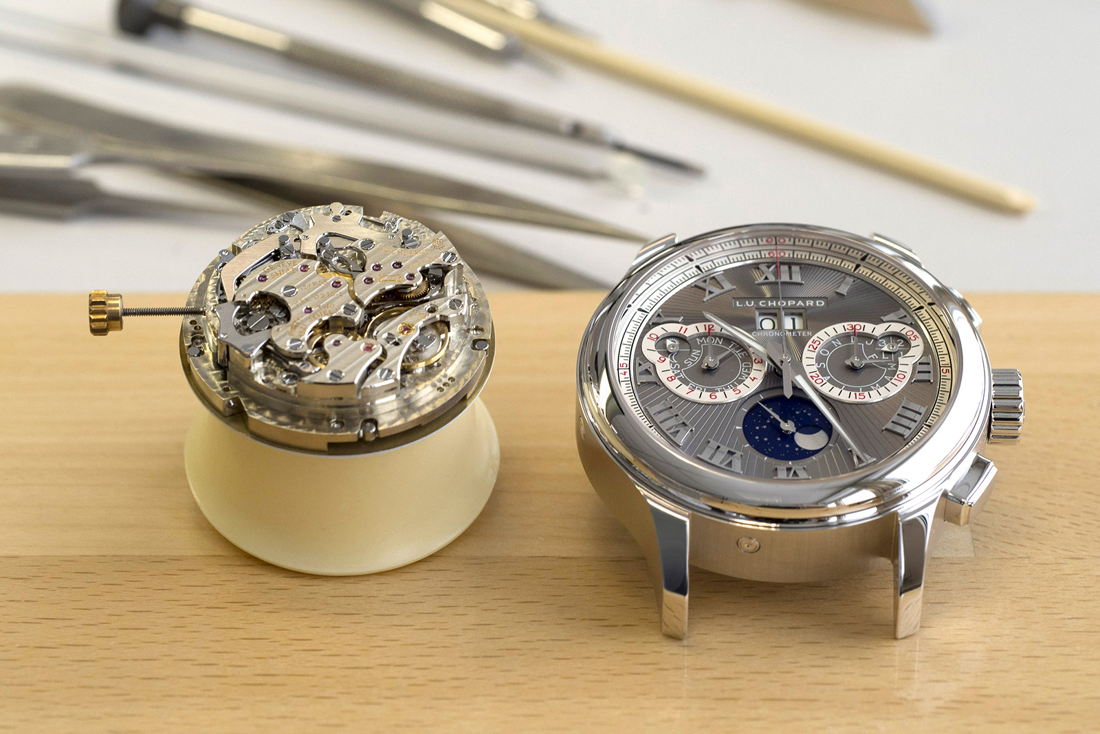 Chopard Manufacture - emboitage
