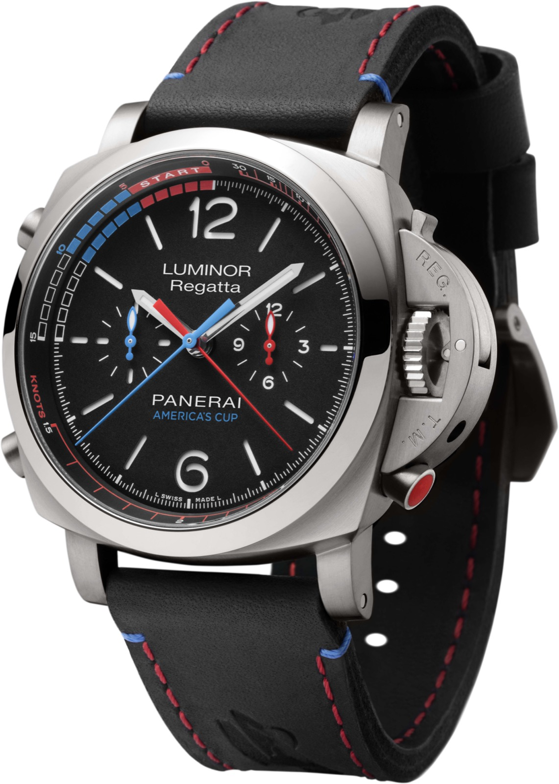 PANERAI LUMINOR 1950 REGATTA ORACLE TEAM USA 3 DAYS CHRONO FLYBACK AUTOMATIC TITANIO (PAM726) – 47mm