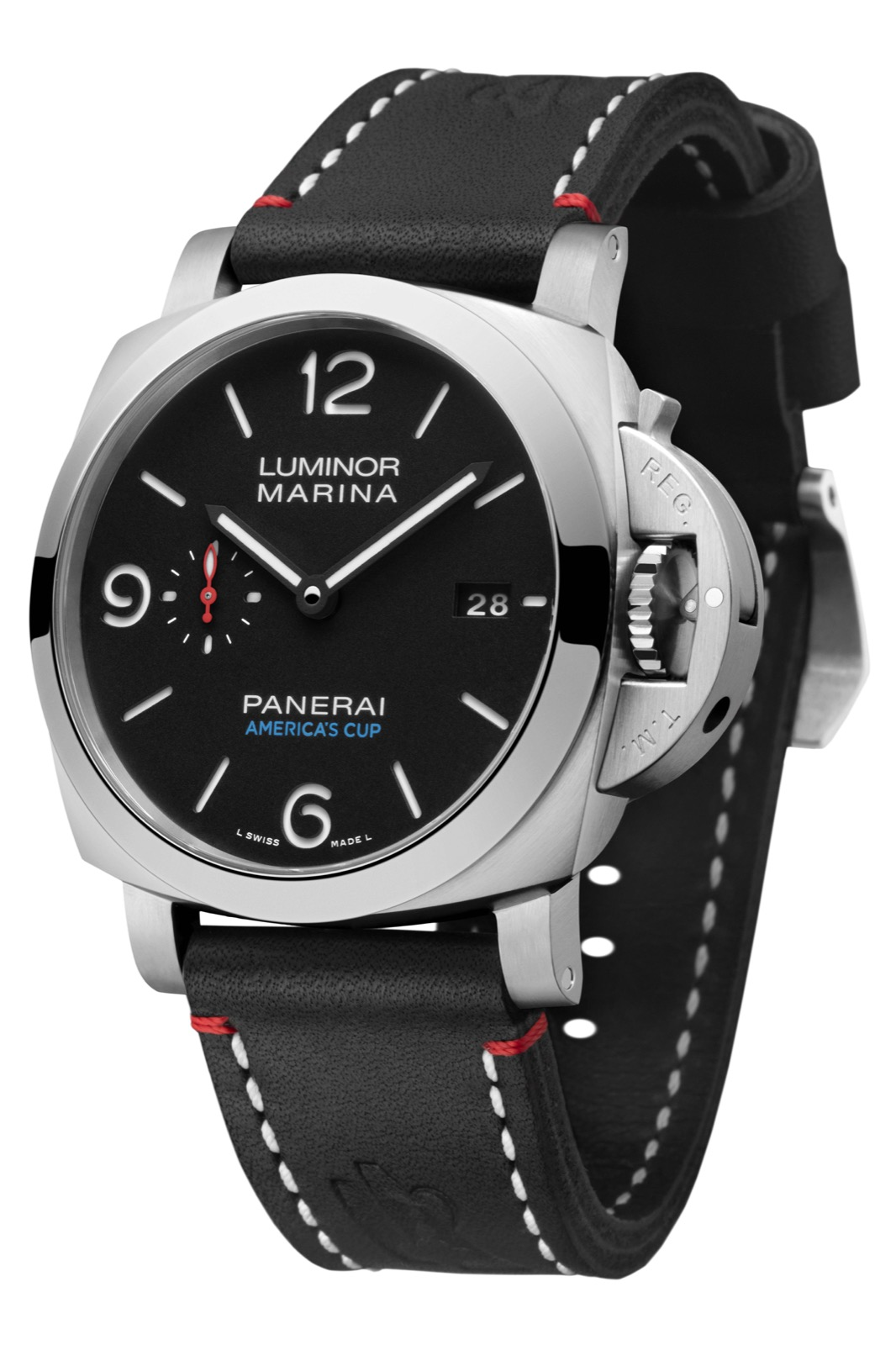 PANERAI LUMINOR MARINA 1950 SOFTBANK TEAM JAPAN 3 DAYS AUTOMATIC ACCIAIO (PAM732) – 44mm