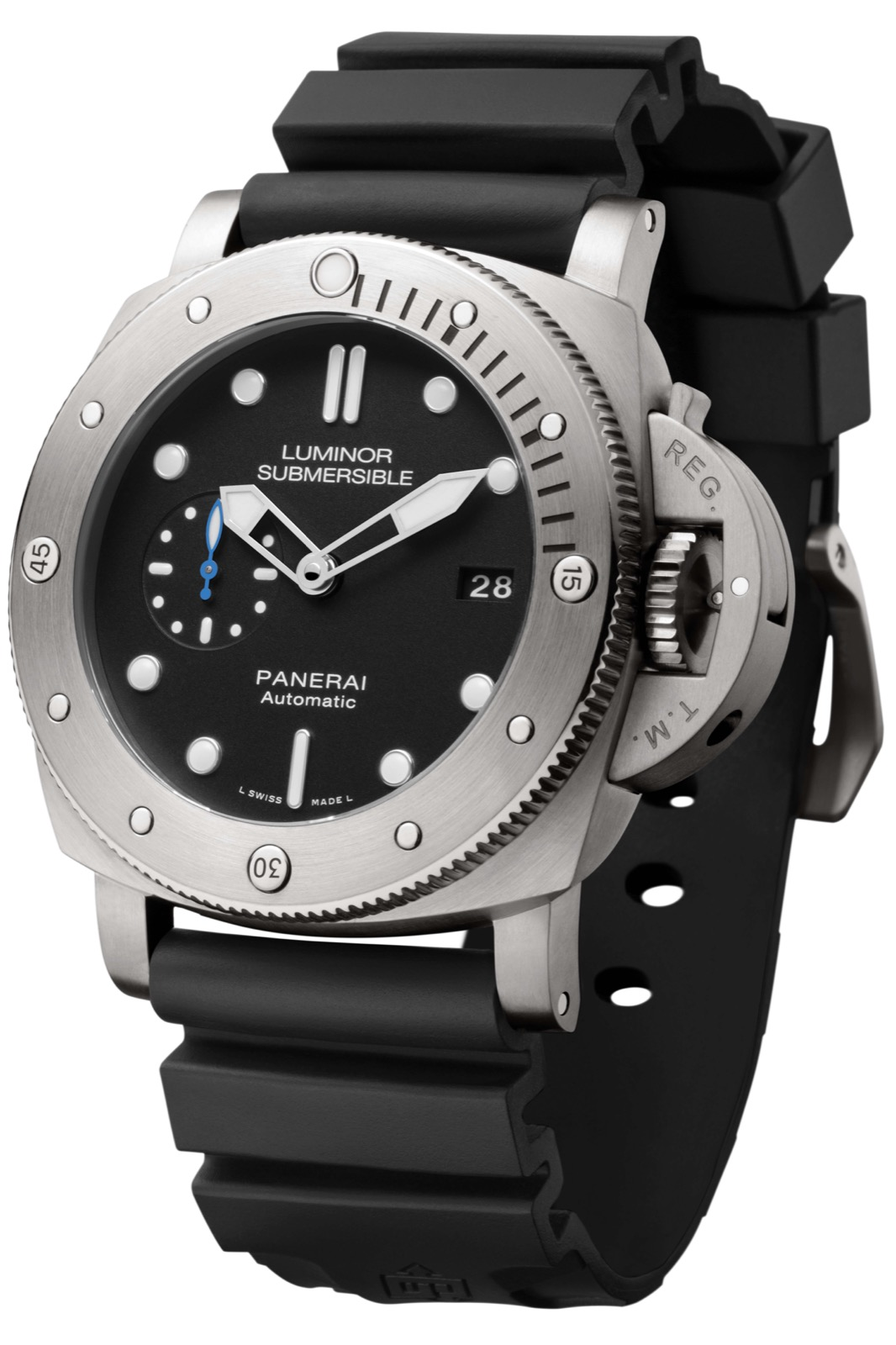 PANERAI LUMINOR SUBMERSIBLE 1950 3 DAYS AUTOMATIC TITANIO (PAM1305) - 47mm