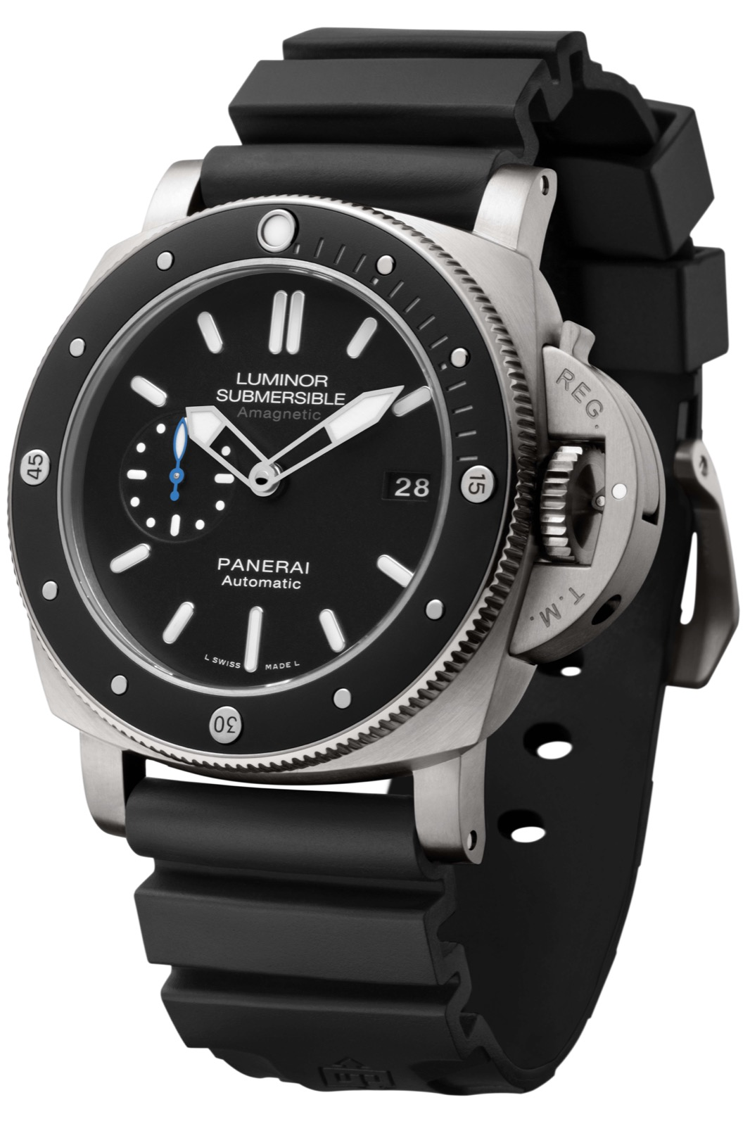 PANERAI LUMINOR SUBMERSIBLE 1950 AMAGNETIC 3 DAYS AUTOMATIC TITANIO (PAM1389) - 47mm