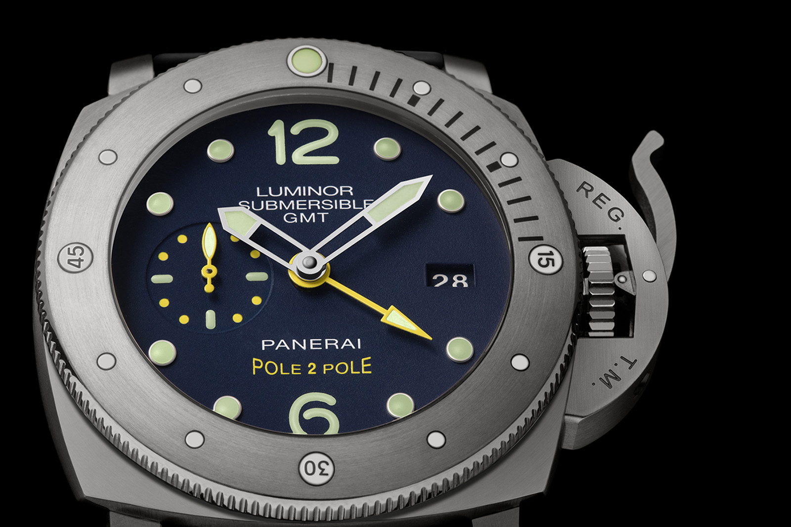 Panerai Luminor Submersible 1950 GMT Pole2Pole