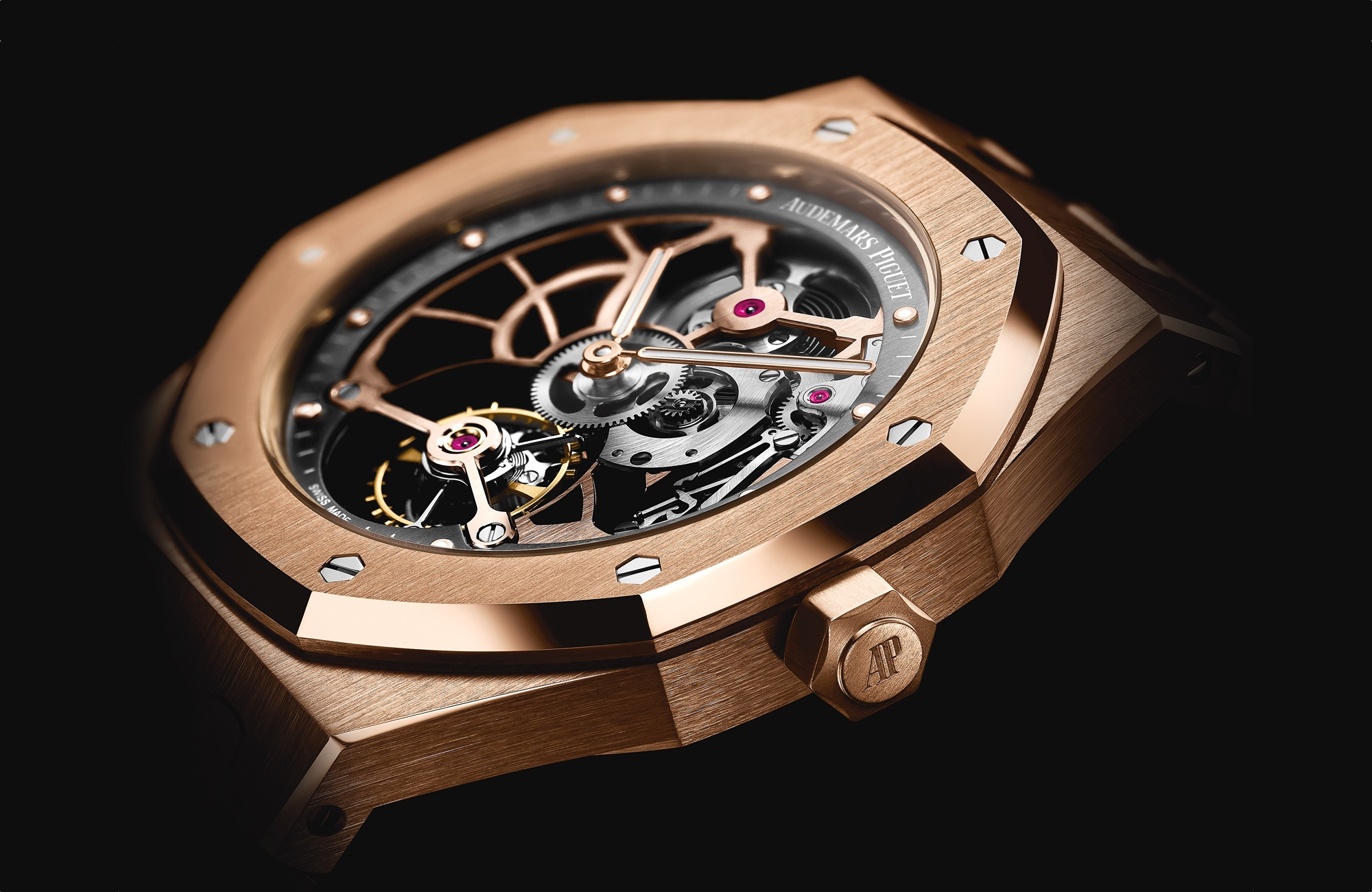 Audemars Piguet en el SIHH 2017 Royal Oak Offshore Tourbillon Extra-Thin Openworked 2017
