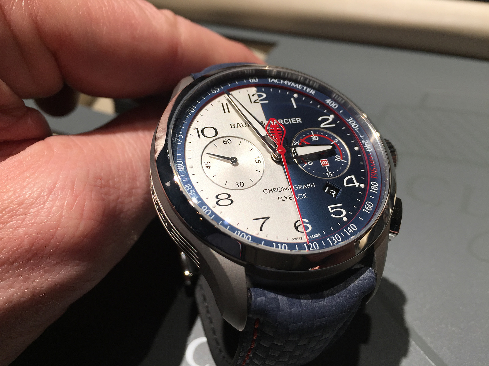 Baume & Mercier - SIHH 2017 - Clifton Shelby Cobra 3