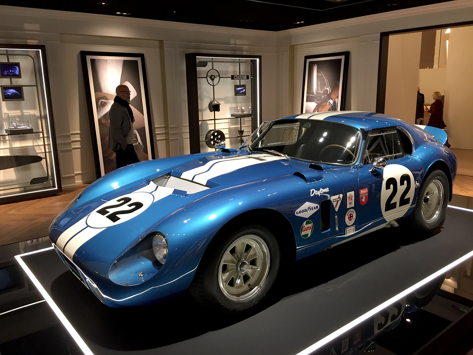 Baume & Mercier - SIHH 2017 - Shelby Cobra Daytona Coupe 1