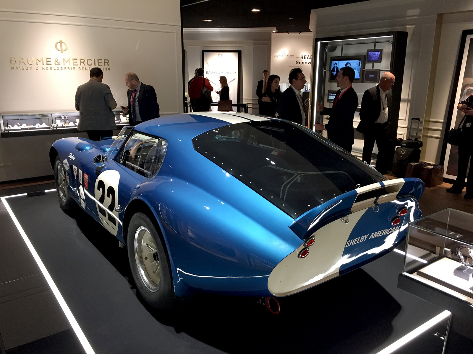 Baume & Mercier - SIHH 2017 - Shelby Cobra Daytona Coupe 2