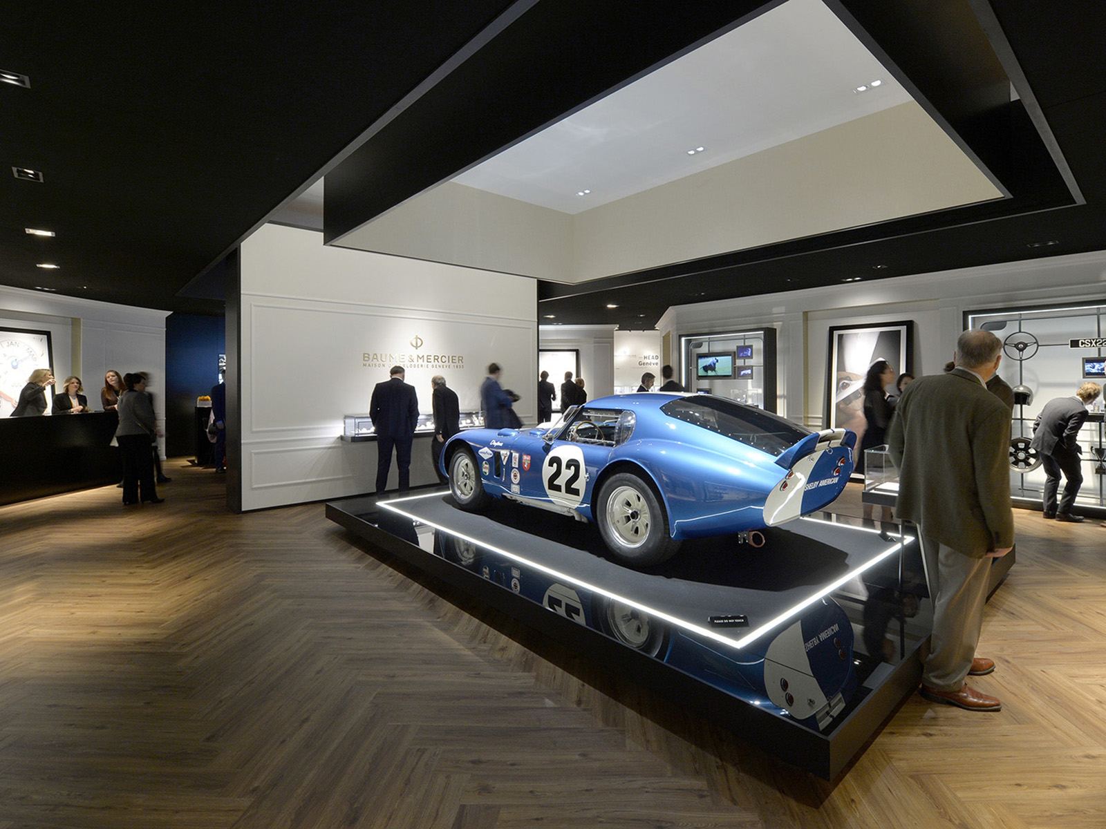 Baume & Mercier - SIHH 2017 - Shelby Cobra Daytona Coupe