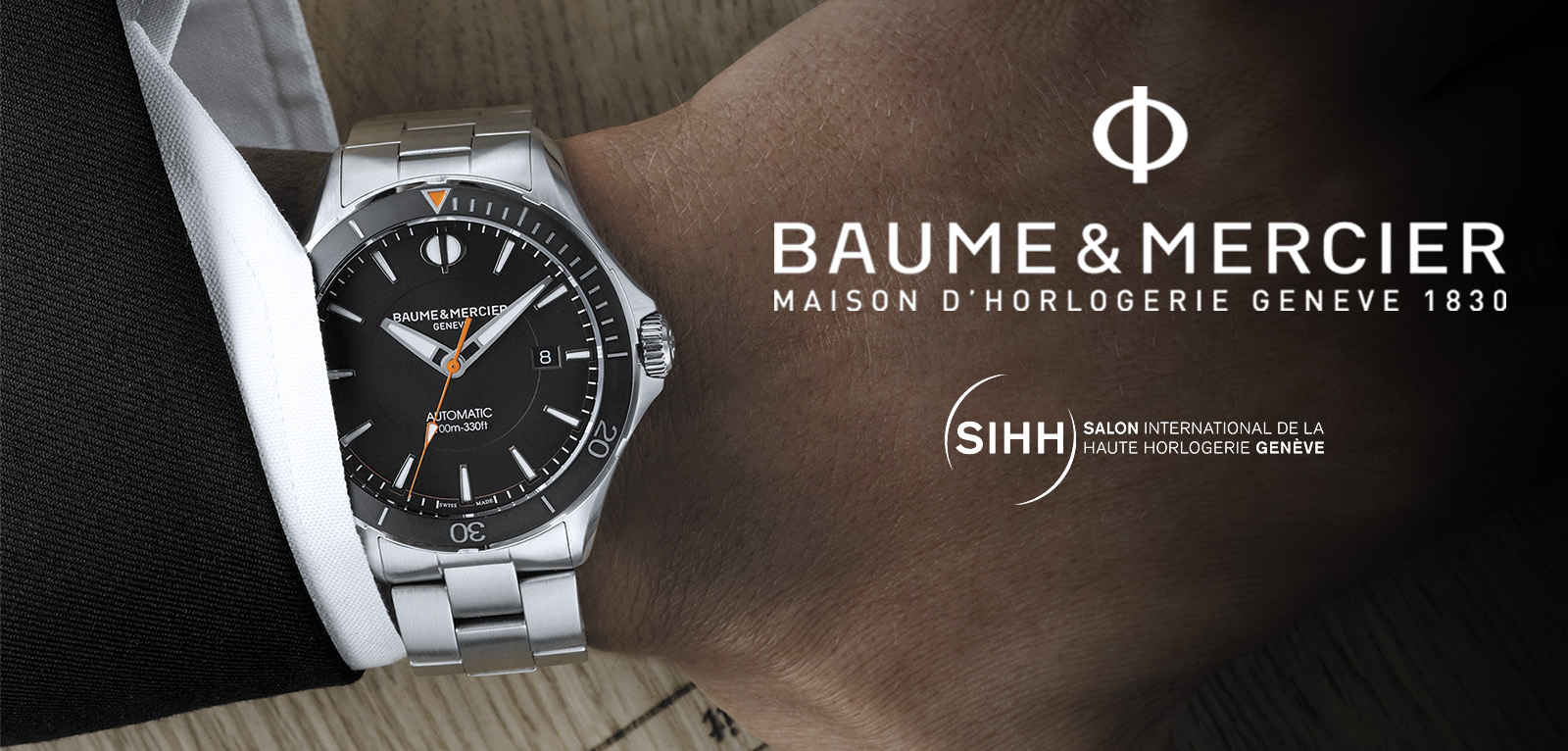 Baume & Mercier - SIHH 2017 - portada