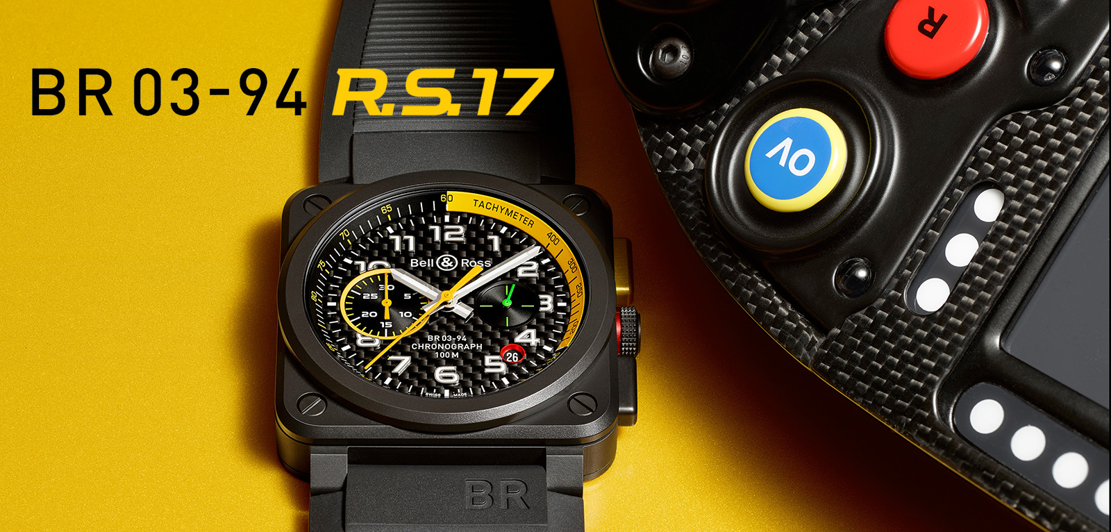 Bell & Ross BR 03-94 RS17 Chronograph - portada