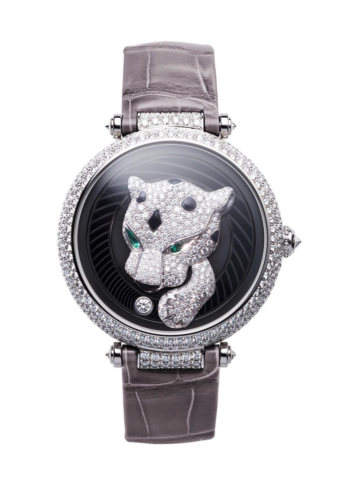 Cartier en el SIHH 2017 - Panthère Joueuse