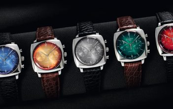 Glashutte Original Sixties Iconic Square Collection Set