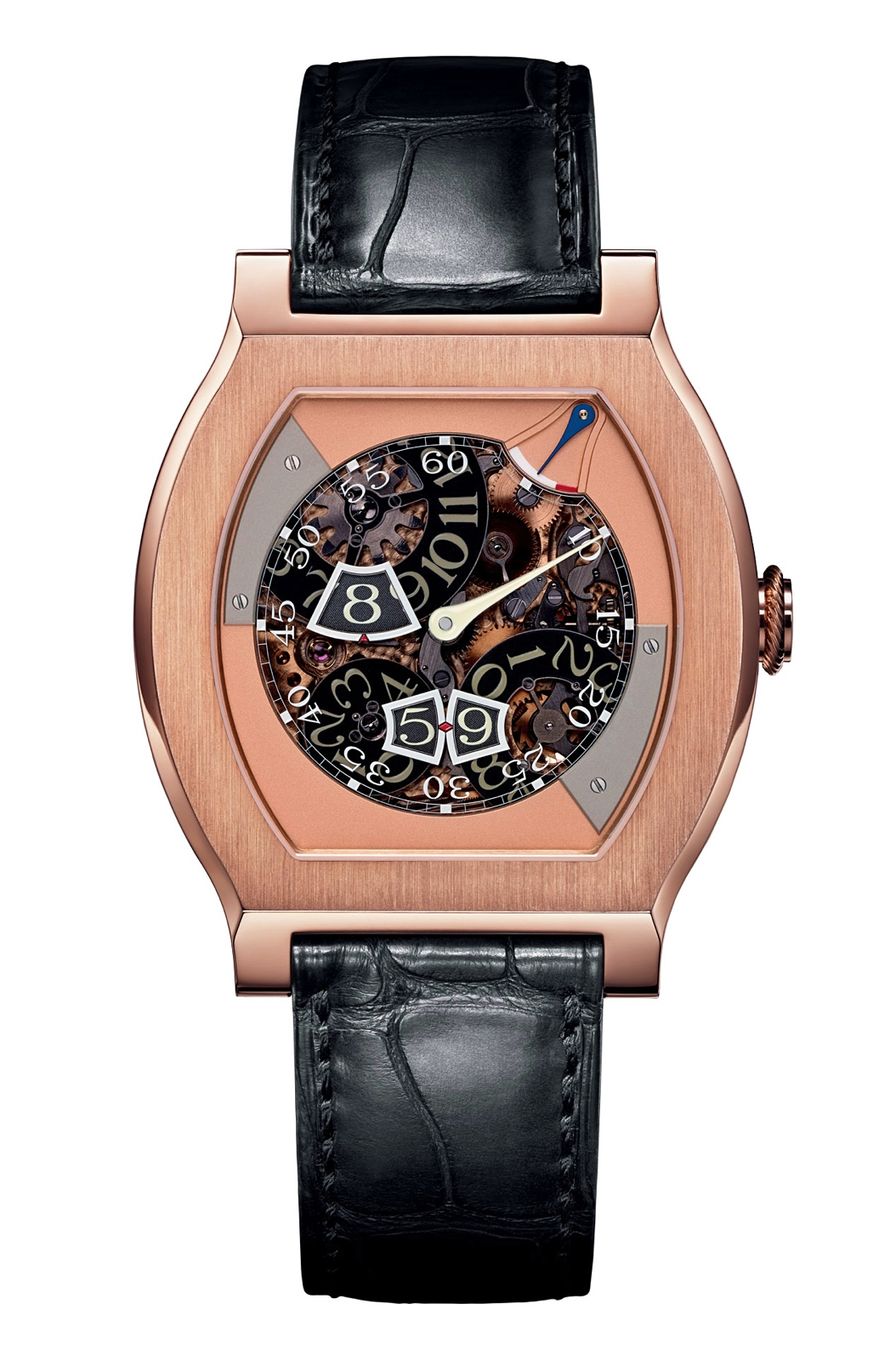 F.P. Journe Vagabondage III - rose gold