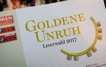 Golden Balance Award 2017 Glashutte 2017
