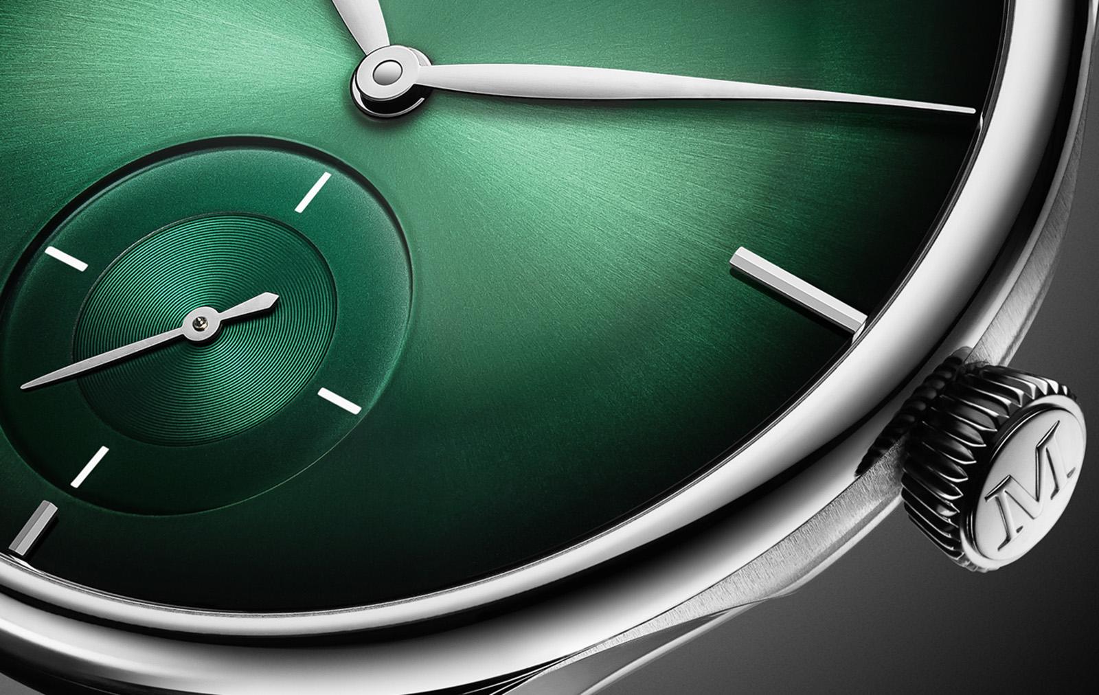 H. Moser Venturer Small Seconds XL Purity Cosmic Green - 1