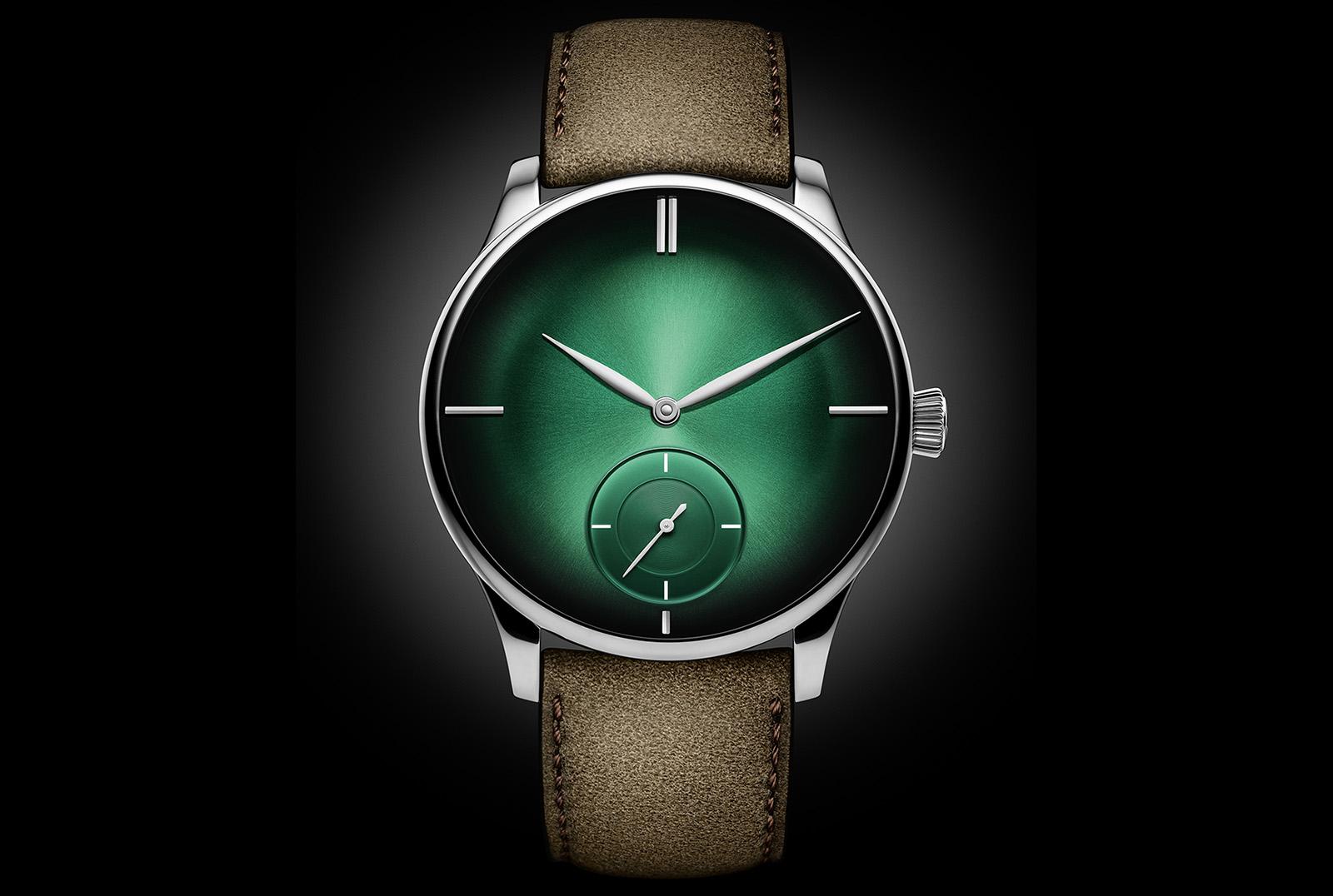 H. Moser Venturer Small Seconds XL Purity Cosmic Green - 2