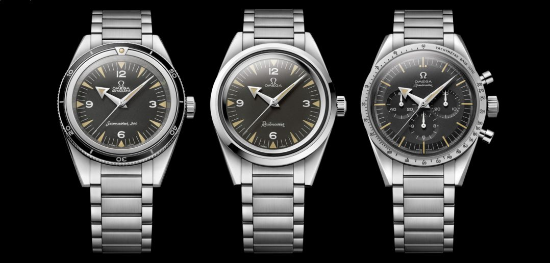 Omega Trilogy Baselworld 2017
