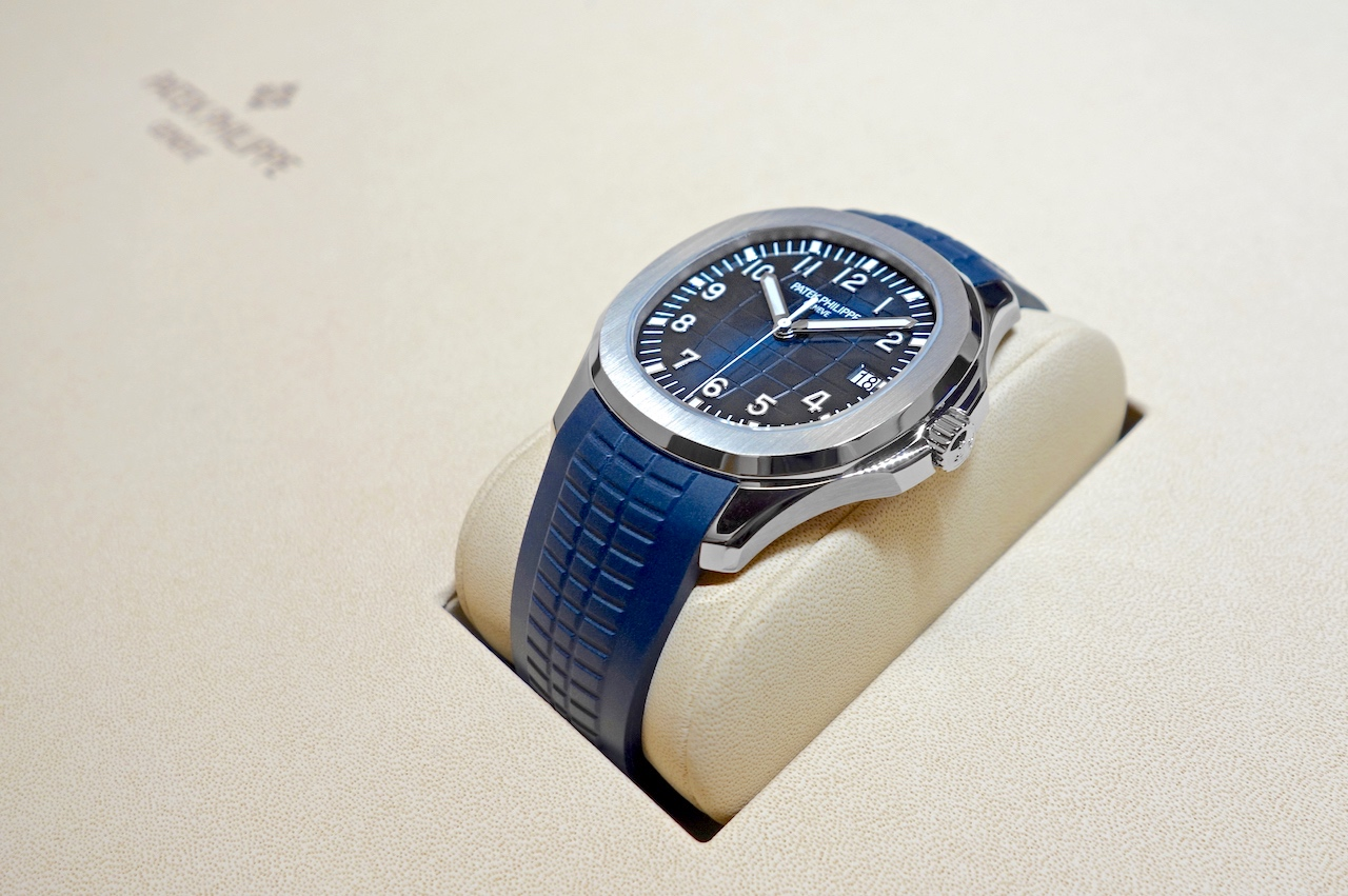 Patek Philippe en Baselworld 2017 - Aquanaut 5168G - 20th Anniversary